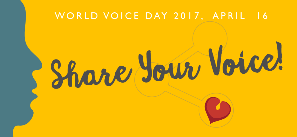Share your voice!