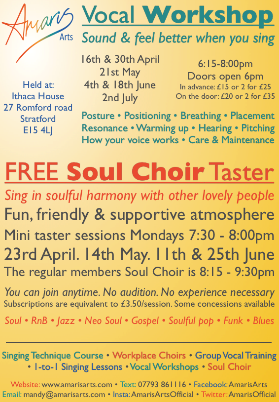 Soul Choir: Sing in soulful harmony with other lovely people